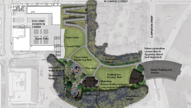 Appleton will renovate Jones Park this summer. The interactive water feature and the hillside play area have been removed from the project to lower costs.