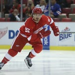 Wings prospect Mitch Callahan's hat trick leads Griffins in AHL playoffs