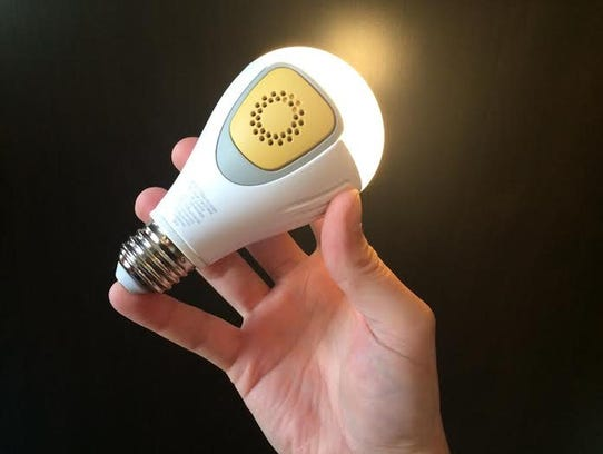 BeON light bulb and home security aid.