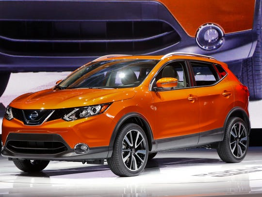 The 2017 Nissan Rogue Sport is on display at the North