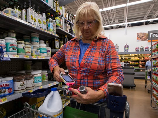 Part-time Cape Coral resident Mardi James, uses the