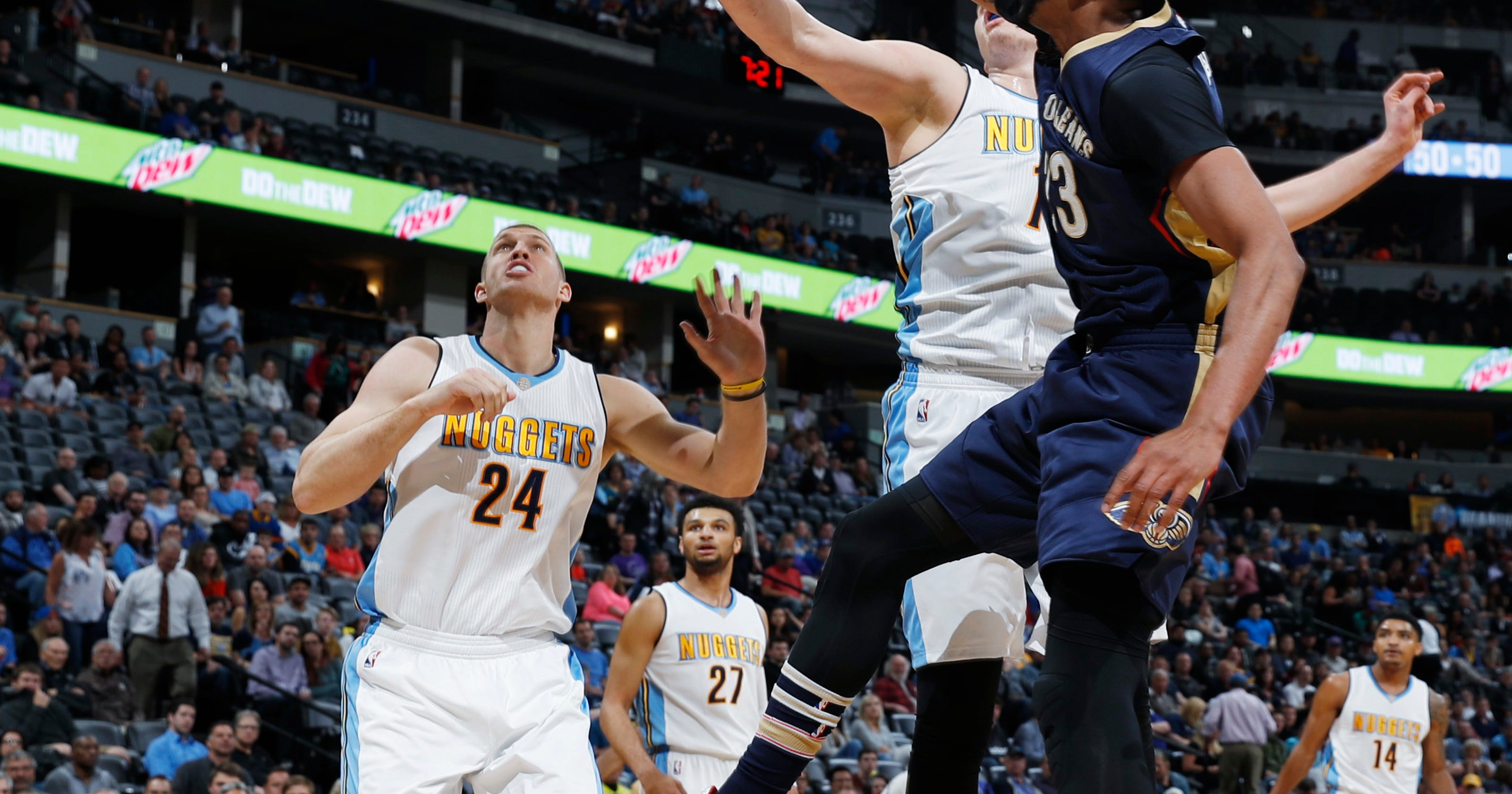 210903c841ec Murray scores career-high 30 as Nuggets trounce Pelicans