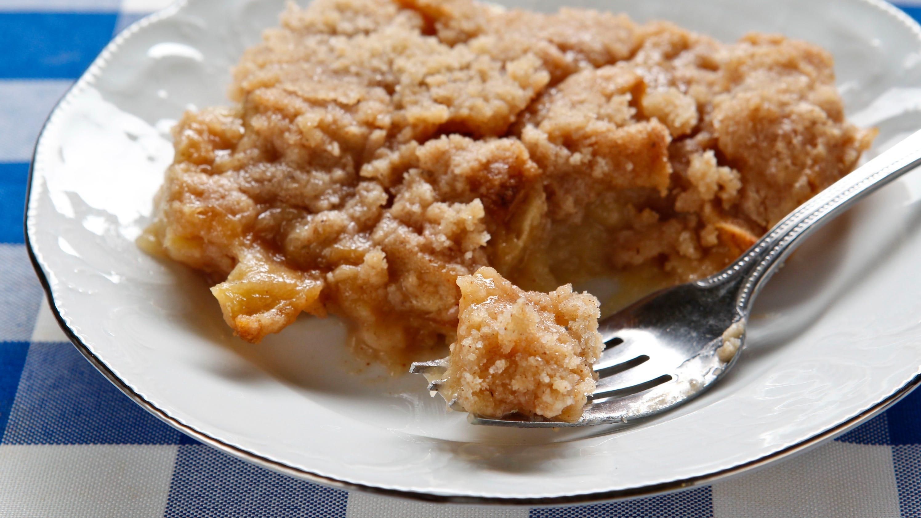 Recipe george bush 39 s apple crisp for 2b cuisine epsom downs