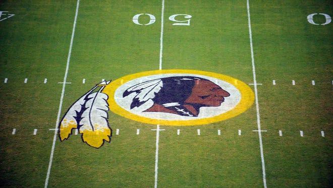The logo for Washington's pro football team.