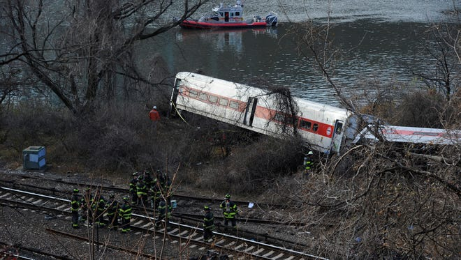 A Metro-North train derailed and killed four passengers Dec. 1 near Spuyten Duyvil Station in the Bronx, N.Y.