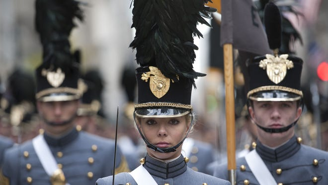 Cadets from the United States Military Academy at West Point.