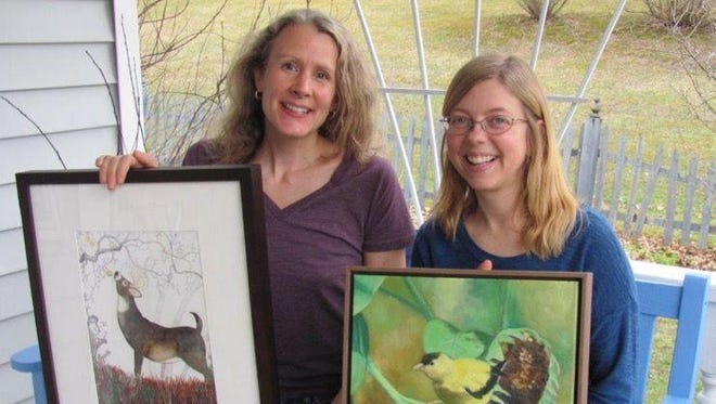 Johanna Husband and Jodie Mangor will open a new exhibit Friday in Owego.