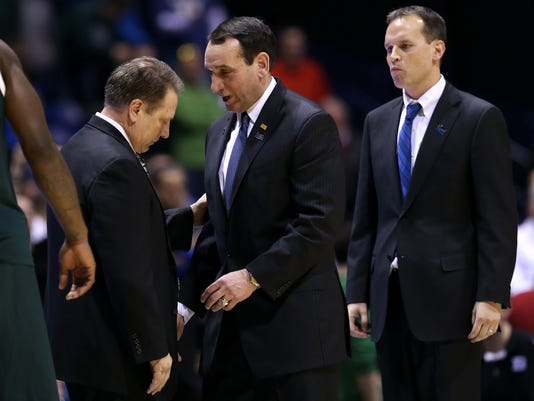 Izzo and Coach K (Couch season predictions)