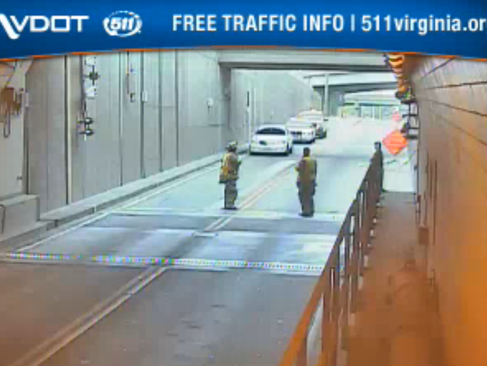 Midtown Tunnel Midtown Tunnel Reopens After