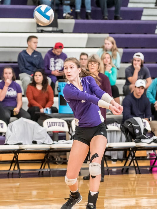 Volleyball Districts Finals 9