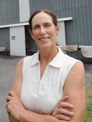 Former state trooper and horse-farm owner Lacey Lafferty is running for governor as a Republican.
