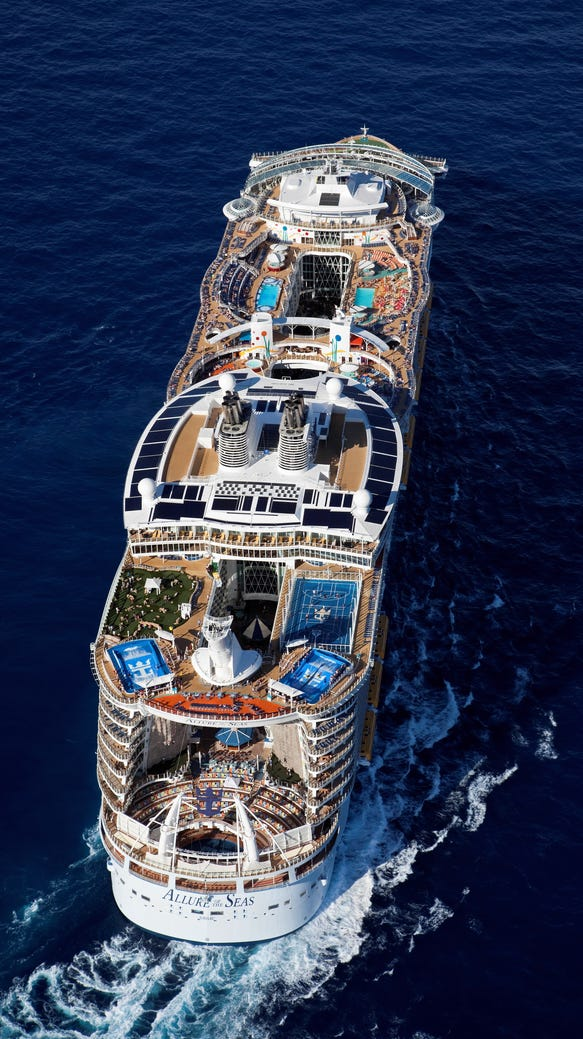 World 39 s largest cruise ship heading to europe - Allure of the seas fort lauderdale port address ...