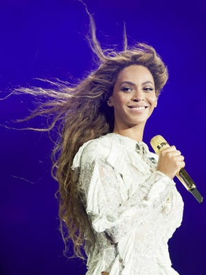 Beyonce performs at the Georgia Dome on May 1, 2016, in Atlanta.