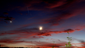 Draconid Meteor Shower at Sunset on October 7
