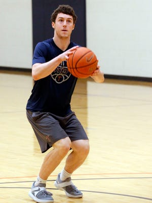 UTEP guard Trey Touchet prepares to enter his senior year on the Miner basketball tema. Trouchet feels that with the players that wree held over forml ast year and the new players coming in UTEP looks to be in much better shape going into the 2017-18 basketball season.