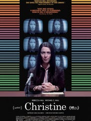 "The movie poster for ""Christine."""