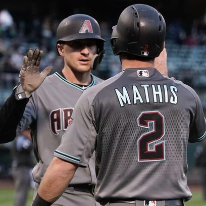 May 25, 2018; Oakland, CA, USA; Arizona Diamondbacks