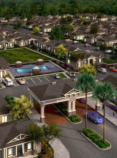 """Christopher Todd Communities is currently building five, one-story """"horizontal""""rental complexes in the Valley and has plans to construct another five to seven next year."""