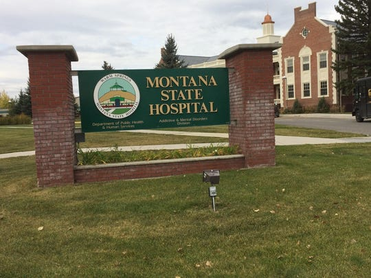 Montana State Hospital in Warm Springs.