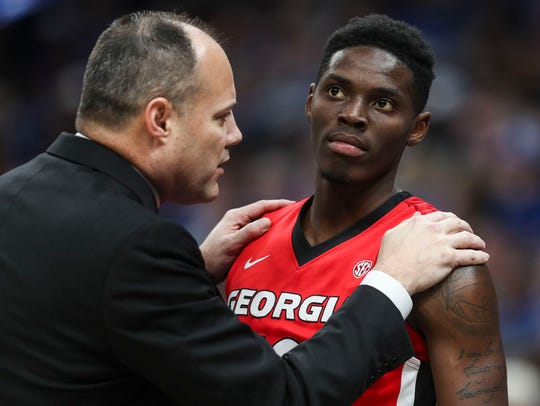 Georgia's Mark Fox has been rumored to be on the hot