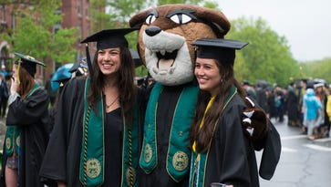 Speakers to UVM grads: Follow passions, hang onto moments of good