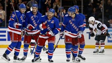 Girardi scores winner, Rangers get away with one