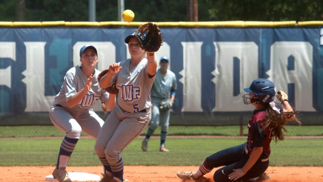 University of West Florida second baseman, Meghan Toney (5) was named to the All-Gulf South Conference team on Wednesday.