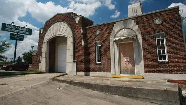 The former firehouse at 1220 Gallatin Ave. had fallen into disrepair before it was rehabbed last year.