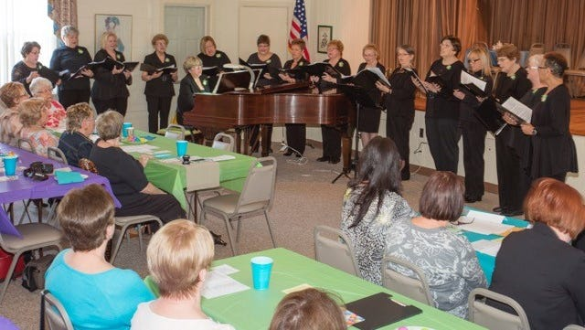 The Millville Woman's Club's chorus will perform at the Golden Nugget in Atlantic City.