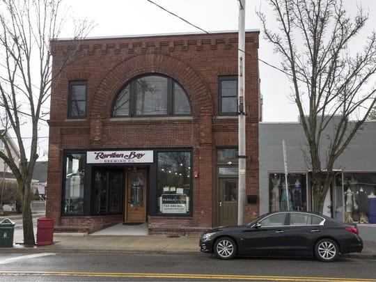 The Keansburg storefront of Raritan Bay Brewing.
