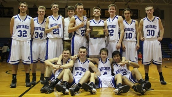 Smoky Mountain's boys team was part of the 2-A Western Regional basketball tournament in March.