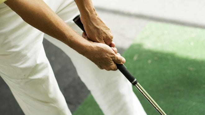 When your grip pressure is too tight, you're contracting muscles in your hands to your wrists to your forearms all the way up to your shoulders.