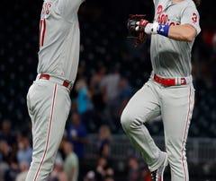 Harper, Eflin power Phillies to 4-1 win over Braves