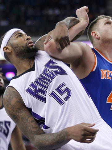 DeMarcus Cousins (15) scored a game-high 39 points
