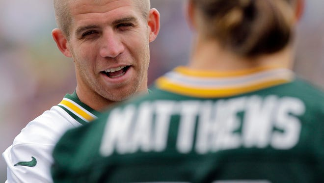Wide receiver Jordy Nelson will have a chance to catch up with some old friends when the Packers visit his new team, the Oakland Raiders, in August.