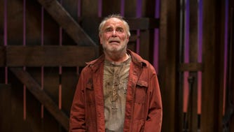 """With the role of Candy in """"Of Mice and Men,"""" James Pickering began a rewarding series of roles as old men and geezers."""