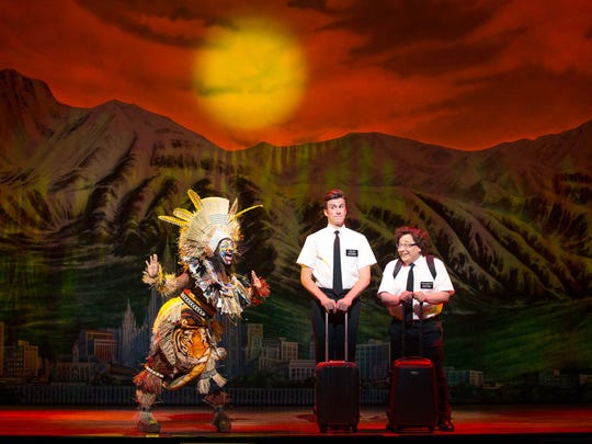 """The Book of Mormon"" was staged in January at the Aronoff"