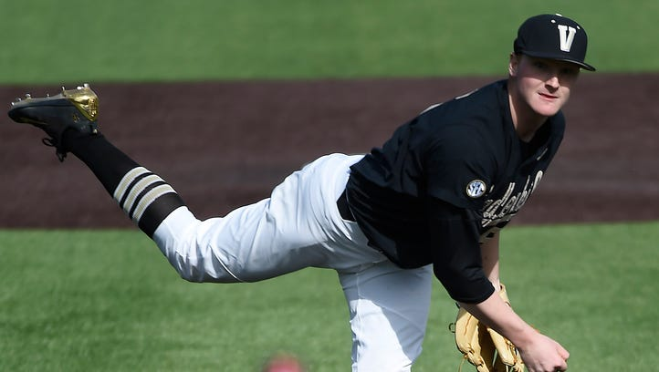 4 Vanderbilt baseball players suspended before loss to Texas A&M