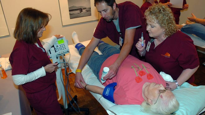 MSU health students will go beyond screenings and health fairs Nov. 18, when the university conducts a medical emergency exercise designed to test students' reactions in a fast paced emergency situation.