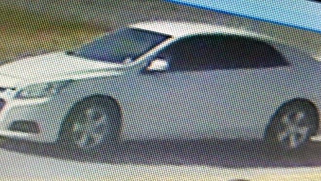 Police say this car may have been involved in an Oct. 3 home invasion in Pennsauken.