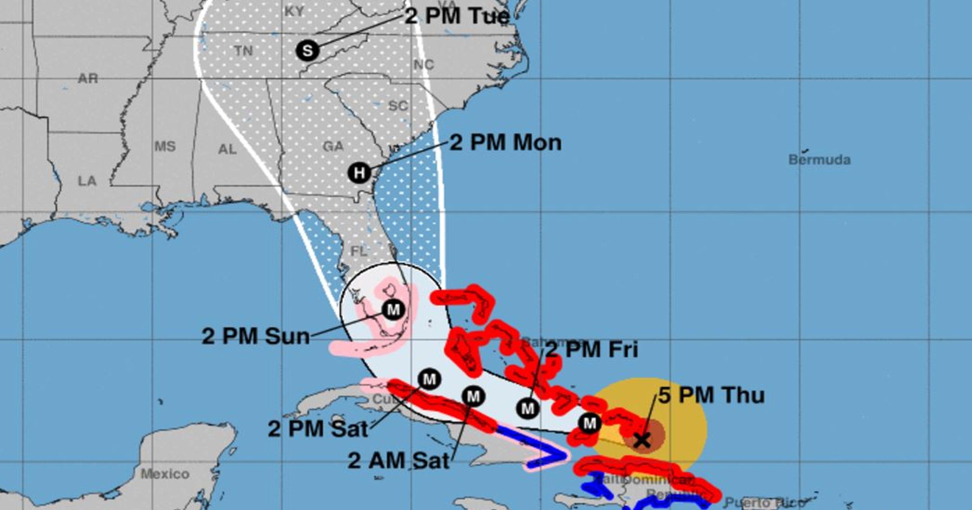Hurricane Irma 8 p m  update: Storm maintains strength