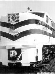 """Spirit of 1776"" Streamliner Locomotive within the"