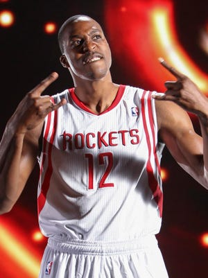 Dwight Howard is excited to join the Rockets.