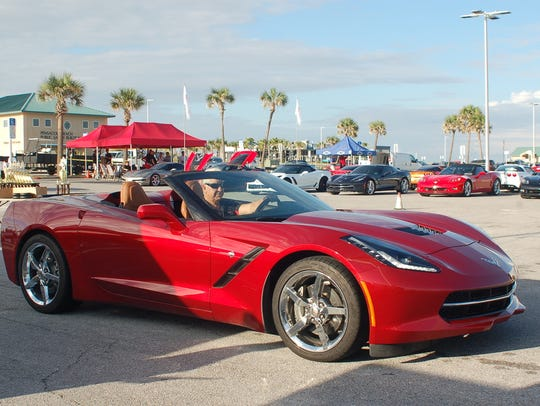 The 16th annual Vettes at the Beach car show will take over Casino Beach parking lot on Saturday.