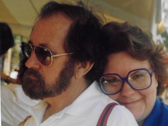John Norman and his wife, Tara Norman. John Norman