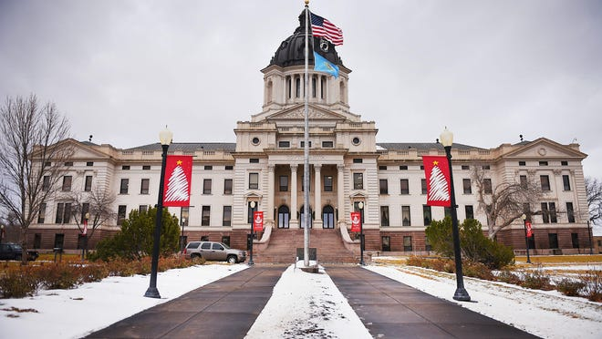 The South Dakota State Capitol in Pierre. Briana Sanchez/Argus Leader South Dakota State Capitol Tuesday, Dec. 5, at in Pierre.
