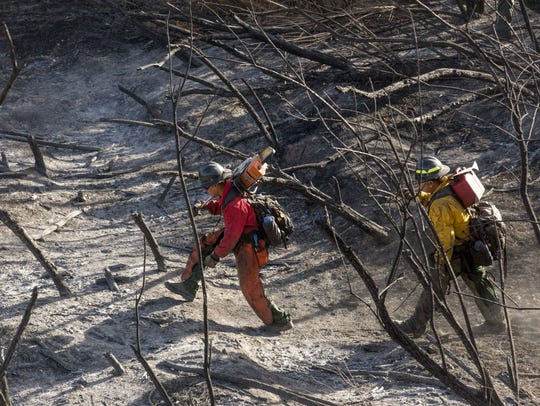 Members of the Bureau of Indian Affairs Wildland Fire