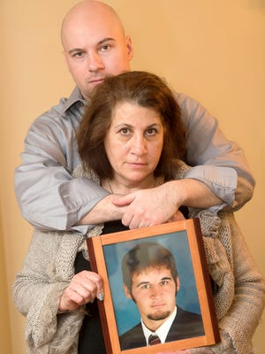 Cathy Quigley of Lemoyne, posing with her other son Jeremy, lost her 30 year old son Kyle in 2014 when the motorcycle he was driving was struck by a driver who was allegedly speeding and had a BAC that was 3 times the legal limit. This crash occurred in York County and is currently awaiting trial.