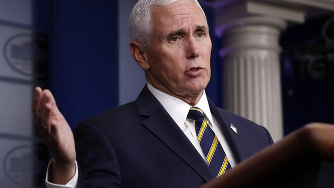 Vice President Mike Pence will make a bus tour of eastern Pennsylvania on Thursday.