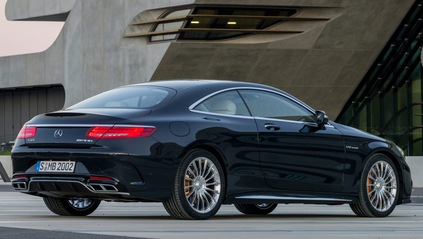 mercedes-benz shows off new s65 amg coupe